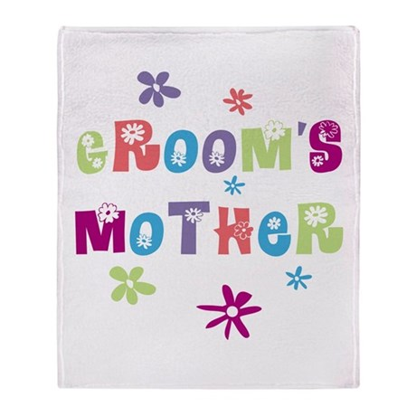 Happy Mother of the Groom Throw Blanket