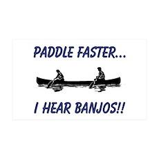 I Hear Banjos 38.5 x 24.5 Wall Peel