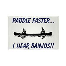 I Hear Banjos Rectangle Magnet