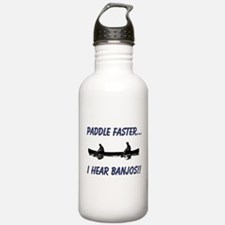 I Hear Banjos Water Bottle