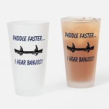 I Hear Banjos Drinking Glass