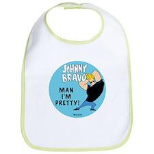 Johnny Bravo Man I'm Pretty Bib