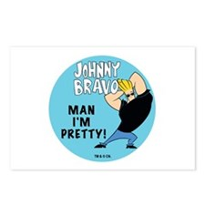 Johnny Bravo Man I'm Pretty Postcards (Package of