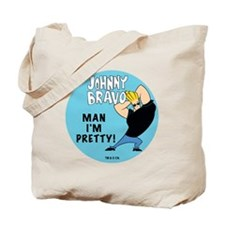 Johnny Bravo Man I'm Pretty Tote Bag