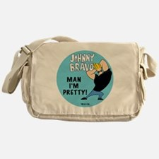 Johnny Bravo Man I'm Pretty Messenger Bag