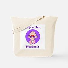 Voy a Ser Bisabuela Tote Bag