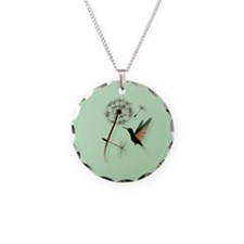 Dandelion and Little Green Hu Necklace