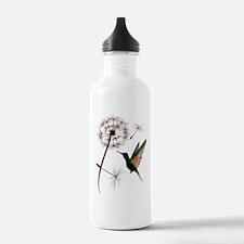 Dandelion and Little Green Hu Water Bottle