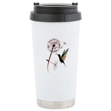 Dandelion and Little Green Hu Travel Mug