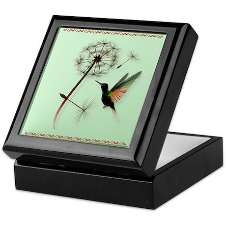 Dandelion and Little Green Hu Keepsake Box
