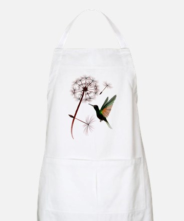 Dandelion and Little Green Hu Apron