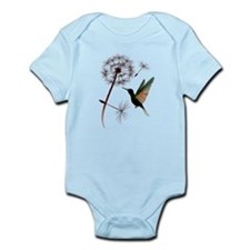 Dandelion and Little Green Hu Infant Bodysuit