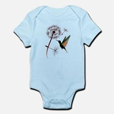 Dandelion and Little Green Hu Onesie