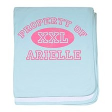 Property of Arielle baby blanket