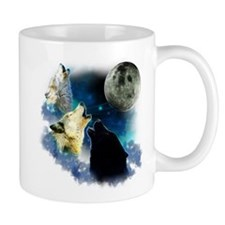 New Wolfs moon 2 Fractal Mug