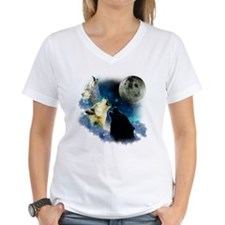 New Wolfs moon 2 Fractal Shirt