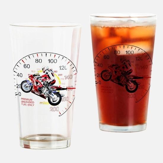 Fractal Speed 2 Drinking Glass