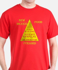 New Mexico Food Pyramid T-Shirt
