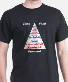 Iowa Food Pyramid T-Shirt