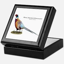 Ring-Necked Pheasant Keepsake Box