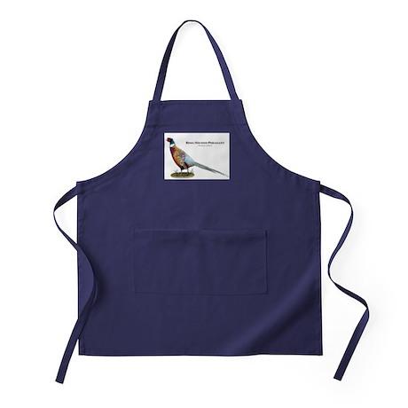 Ring-Necked Pheasant Apron (dark)