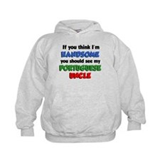 Handsome Portuguese Uncle Hoodie
