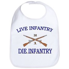 1st Bn 38th Infantry Bib