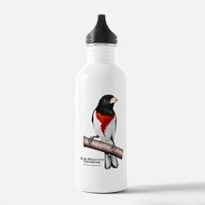 Spotted Towhee Water Bottle