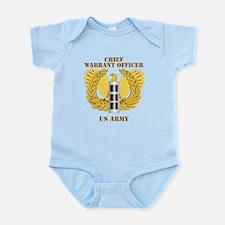 Army - Emblem - Warrant Officer CW3 Infant Bodysui