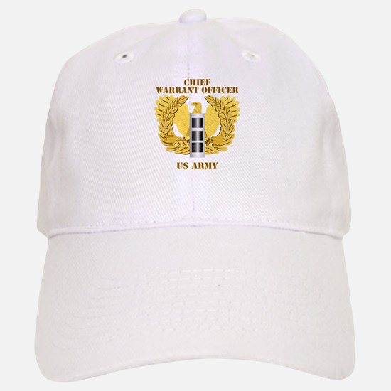 Army - Emblem - Warrant Officer CW3 Baseball Baseball Cap