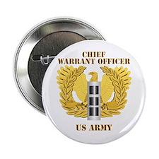 "Army - Emblem - Warrant Officer CW3 2.25"" Button"