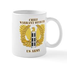 Army - Emblem - Warrant Officer CW3 Mug