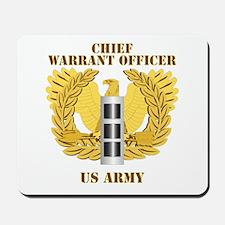 Army - Emblem - Warrant Officer CW3 Mousepad