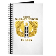 Army - Emblem - Warrant Officer CW3 Journal