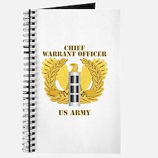 Army - Emblem - Warrant Officer CW3 Journal