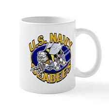 USN Navy Seabees Mad Bee Mug
