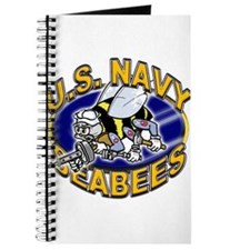 USN Navy Seabees Mad Bee Journal