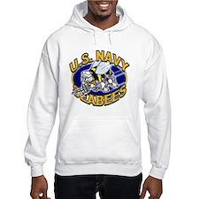 USN Navy Seabees Mad Bee Hoodie