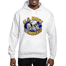 USN Navy Seabees Mad Bee Jumper Hoody