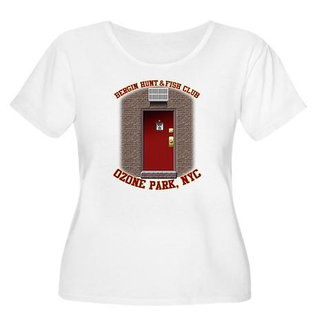 BH&FC Women's Plus Size Scoop Neck T-Shirt