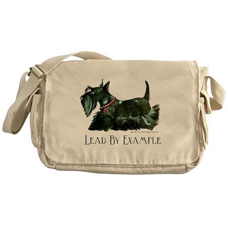 Scottish Terrier Leader Messenger Bag