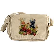 Vintage Scottish Terrier Messenger Bag
