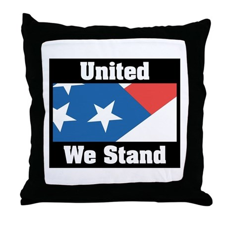 United We Stand Throw Pillow