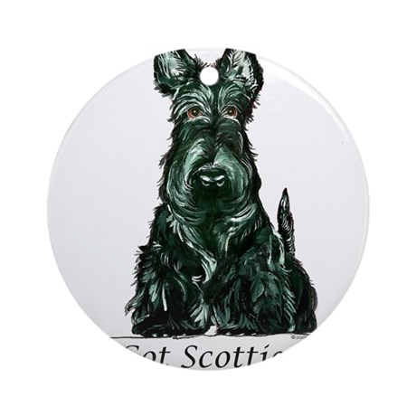 Got Scotties? Ornament (Round)