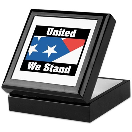 United We Stand Keepsake Box