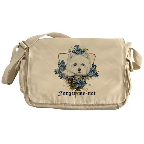 Forget Me Not Messenger Bag