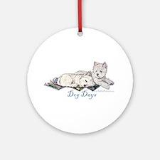 WestHighland White Terrier Da Ornament (Round)