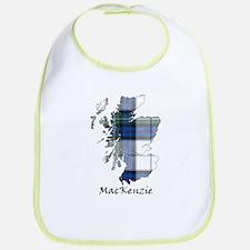 Map-MacKenzie dress Cotton Baby Bib
