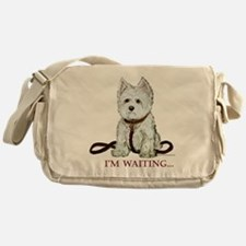 Westie Walks Messenger Bag