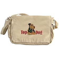 Airedale - Top Dog Messenger Bag